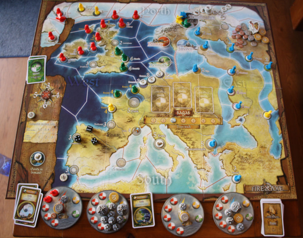 The End Game Chaos Created By Vikings Nicely Grouped Colours Of Is Unlikely To Occur In A More Competitive Especially Because Saga